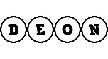 Deon handy logo