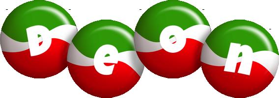 Deon italy logo