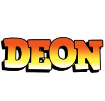 Deon sunset logo