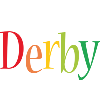Derby birthday logo