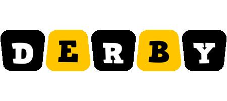 Derby boots logo