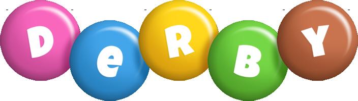 Derby candy logo