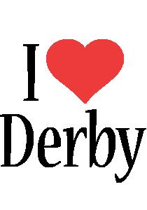 Derby i-love logo