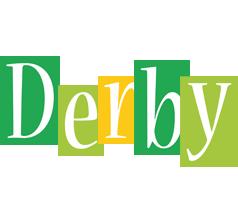 Derby lemonade logo