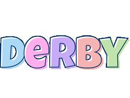 Derby pastel logo