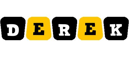 Derek boots logo