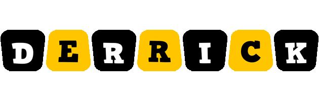 Derrick boots logo