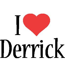 Derrick i-love logo