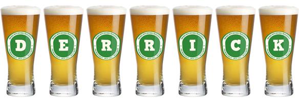 Derrick lager logo