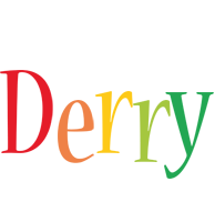 Derry birthday logo