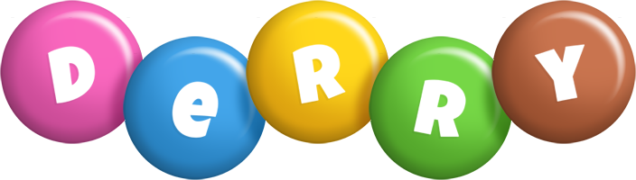Derry candy logo