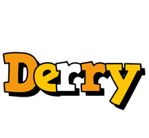 Derry cartoon logo