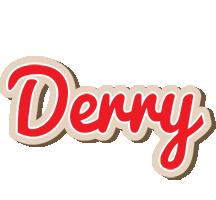 Derry chocolate logo