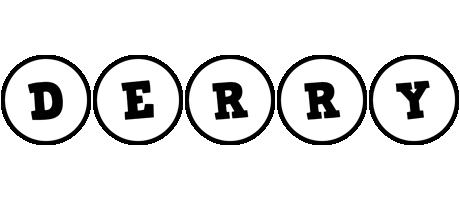 Derry handy logo