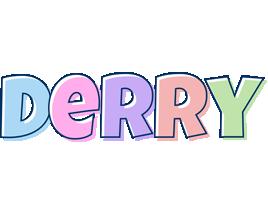 Derry pastel logo