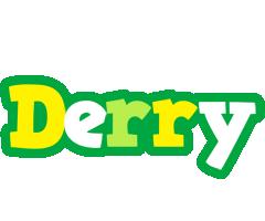 Derry soccer logo