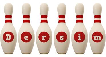Dersim bowling-pin logo