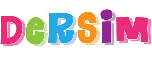 Dersim friday logo