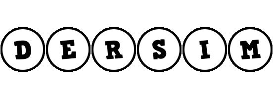 Dersim handy logo