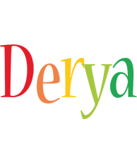 Derya birthday logo