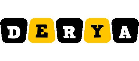 Derya boots logo