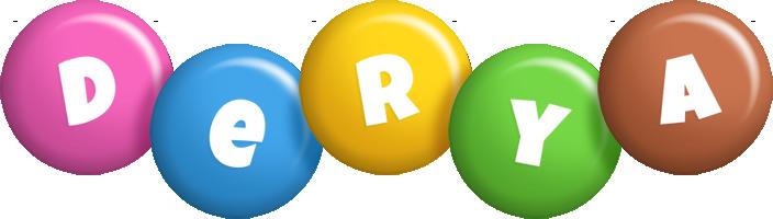 Derya candy logo