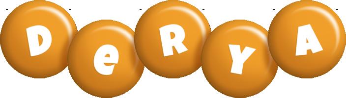 Derya candy-orange logo