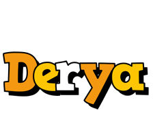 Derya cartoon logo