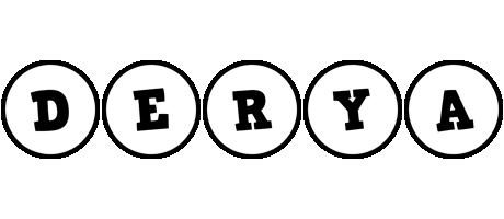 Derya handy logo