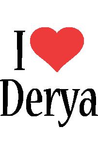 Derya i-love logo