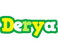 Derya soccer logo