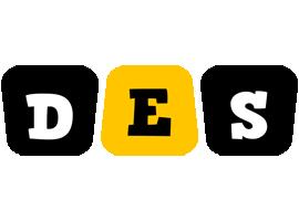 Des boots logo