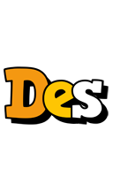 Des cartoon logo