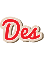 Des chocolate logo