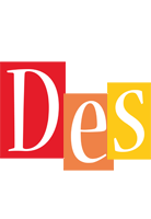 Des colors logo