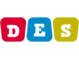 Des daycare logo