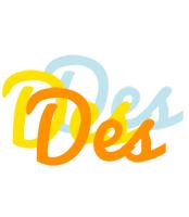 Des energy logo
