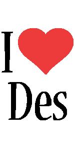 Des i-love logo