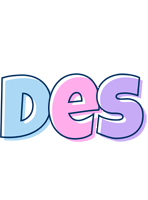 Des pastel logo