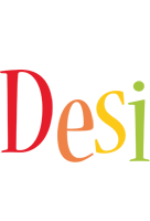 Desi birthday logo