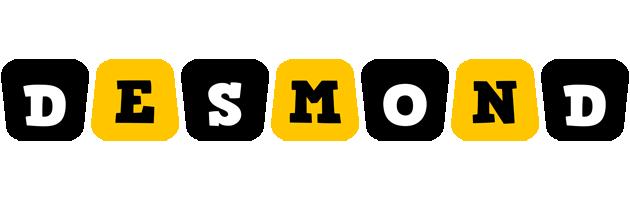 Desmond boots logo