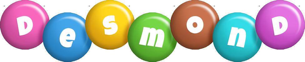 Desmond candy logo