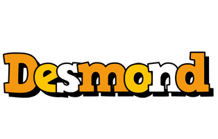 Desmond cartoon logo