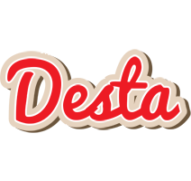 Desta chocolate logo