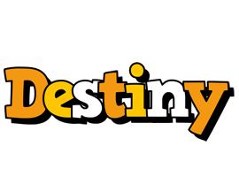 Destiny cartoon logo