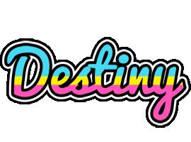 Destiny circus logo