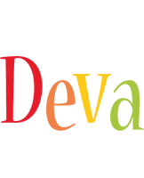 Deva birthday logo