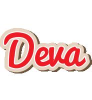 Deva chocolate logo