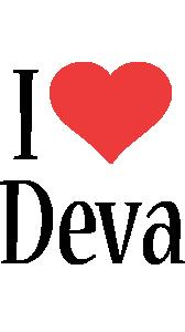 Deva i-love logo