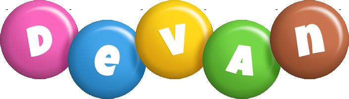 Devan candy logo